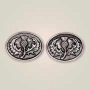 113 Scottish Thistle Cufflinks