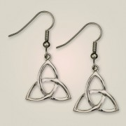 120E Crinan Knot Earrings