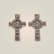 140 Iona Cross Earrings