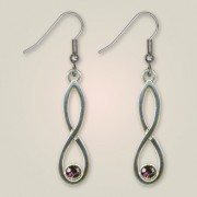182E Colonsay Knot Earrings