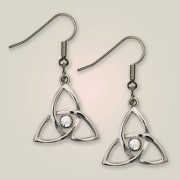 220E Crinan Knot Earrings