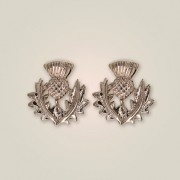 239E Scottish Thistle Earrings