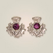 239ES Scottish Thistle Earrings