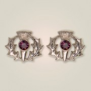 241 Scottish Thistle Earrings