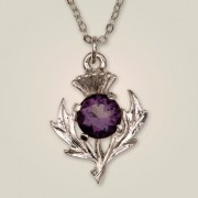 143 Scottish Thistle Pendant