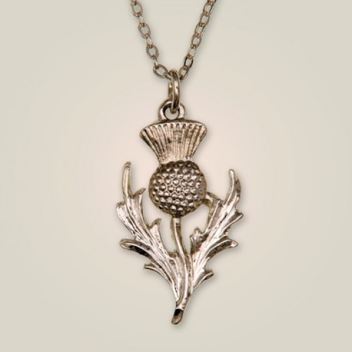 217p scottish thistle pendant aloadofball Images