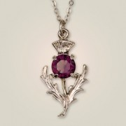 080 Scottish Thistle Pendant