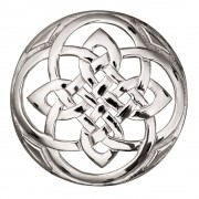 189 Celtic Plaid Brooch