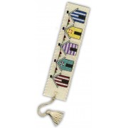 BKBH Beach Huts Bookmark