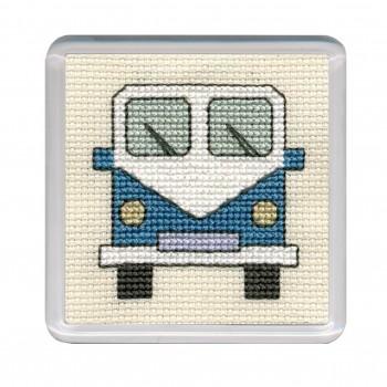 COCVB Campervan Coaster - Blue