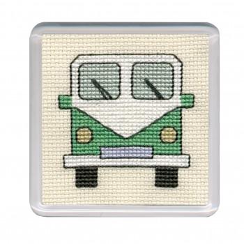 COCVG Campervan Coaster - Green