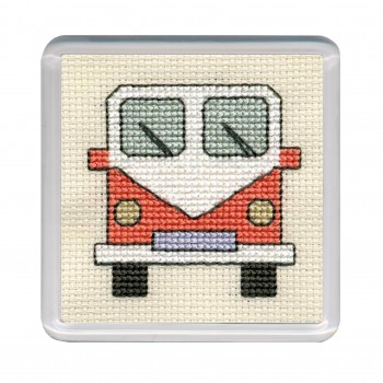 COCVO Campervan Coaster - Orange