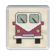 COCVP Campervan Coaster - Pink