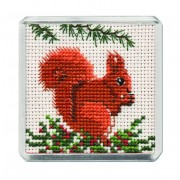FMRS Red Squirrel Fridge Magnet
