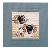 MCBF BlackFace Sheep Miniature Card