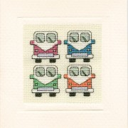 MCCV Campervans Miniature Card