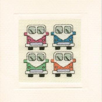 MCCV Campervans Miniature Card