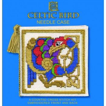 NCCB Celtic Bird Needle Case