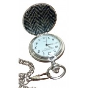 PW1/HT Harris Tweed Pocket Watch