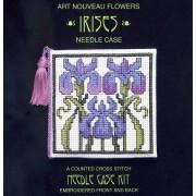 Irises Needle Case - SALE