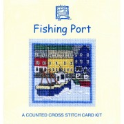 Fishing Port Miniature Card