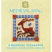 Medieval Stag Miniature Card
