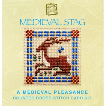 MCMS - Medieval Stag Miniature Card - SALE