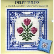 Delft Tulips Picture - SALE